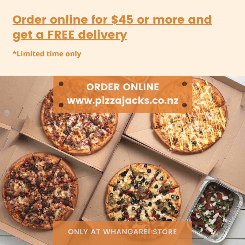 Free delivery on order $45 and more